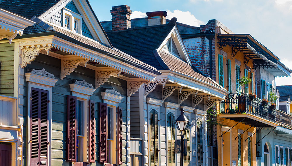 French Quarter building details